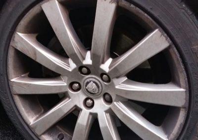 Image of kerbed alloy wheel