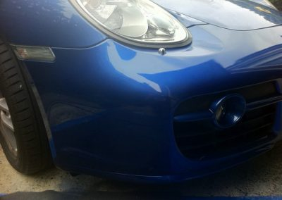 Image of completed bumper scrape repair