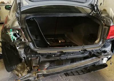 Image of car requiring crash repair