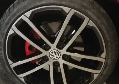 VW Alloy Wheel Repair After Image