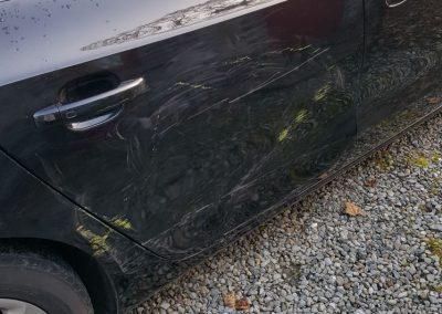 Audi door and quarter panel
