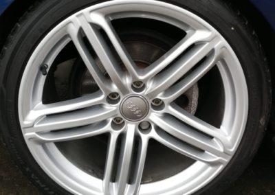Audi Silver Wheel Repair Image