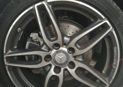BMW Wheel Repair Before