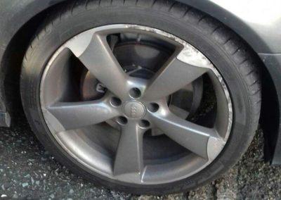 Audi Wheel Repair Before Image