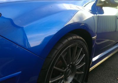 Wing Dent Repair After Image