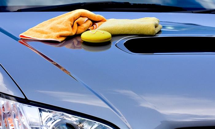 Image of a car with crash repair damage